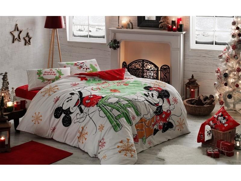 TAC спален комплект Mickey & Minnie NEW YEAR