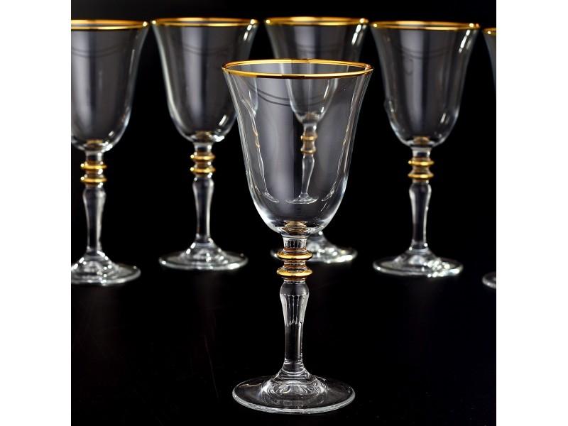 Сервиз кристални чаши за 12 човека AGIZ