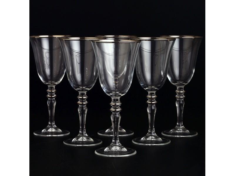 Сервиз кристални чаши за 12 човека AGIZ Platin