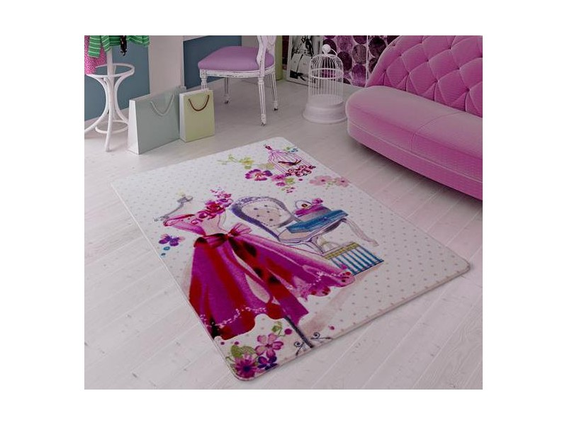 Детски килим 133х190 см. Lady Dress