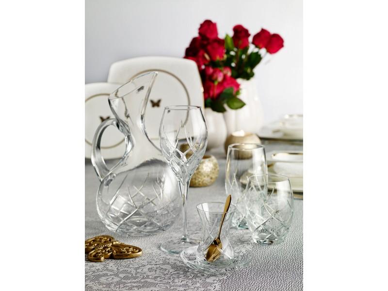 Сервиз кристални чаши за 6 човека WINDY