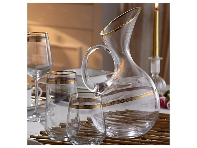 Сервиз кристални чаши за 6 човека QUEEN