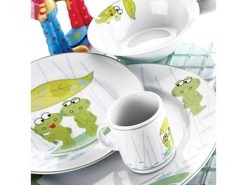 Детски сервиз за хранене от 5 части Frog