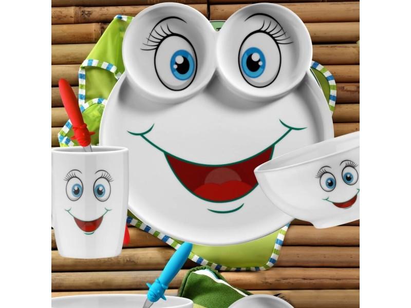 Детски сервиз за хранене от 5 части SMILE