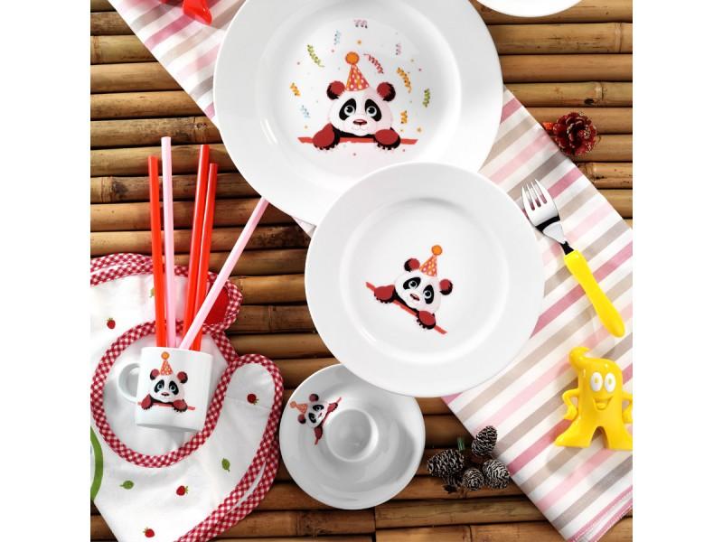 Детски сервиз за хранене от 5 части PANDA