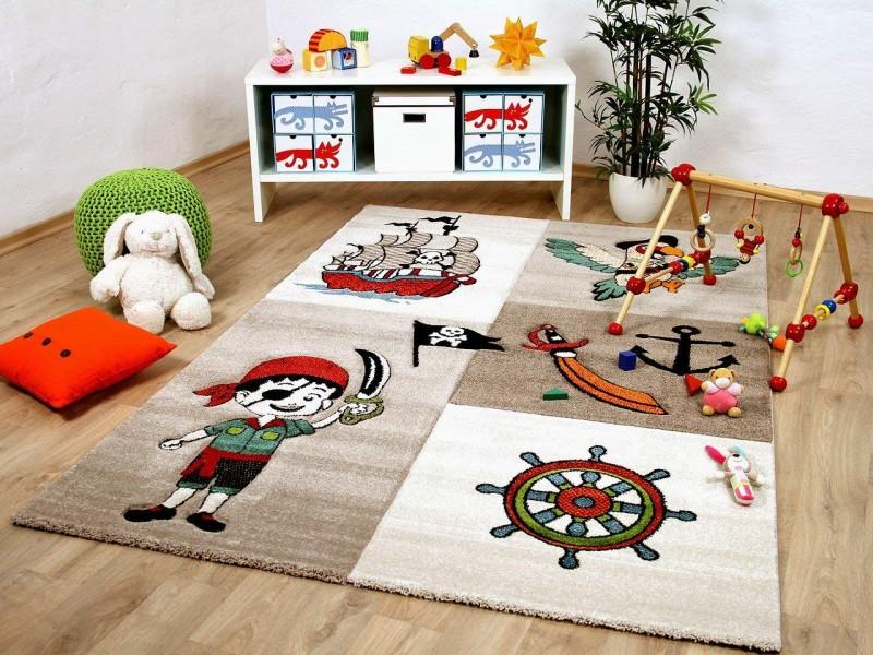 Детски релефен килим 160 х 230 см. ПИРАТ