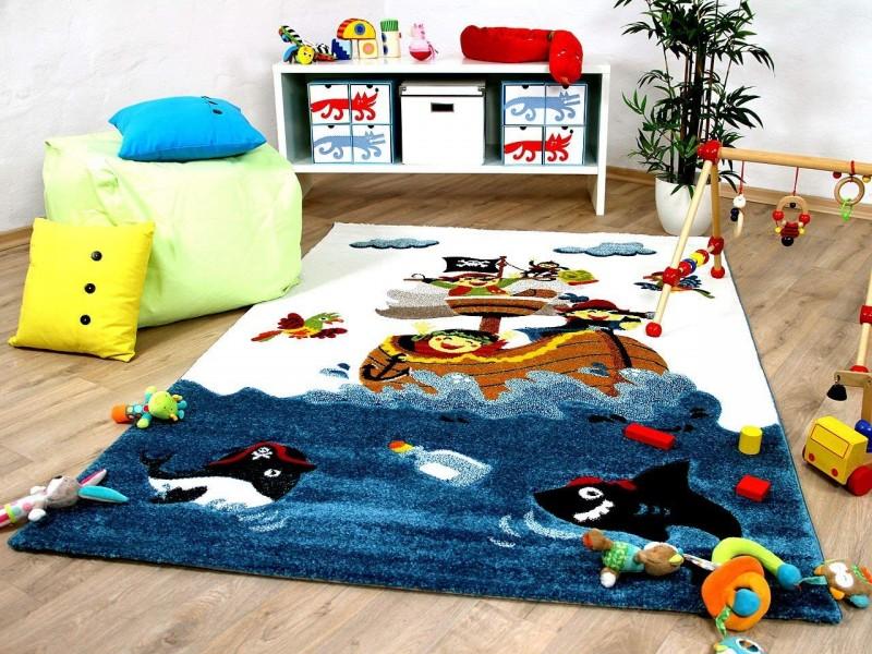 Детски релефен килим 160 х 230 см. ПИРАТИ