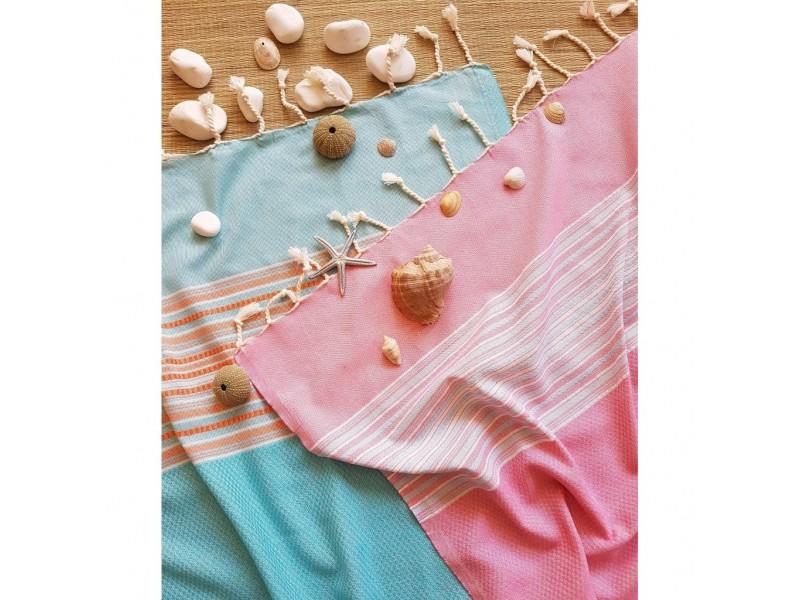 2 броя плажни кърпи пещемал, парео, Анталия