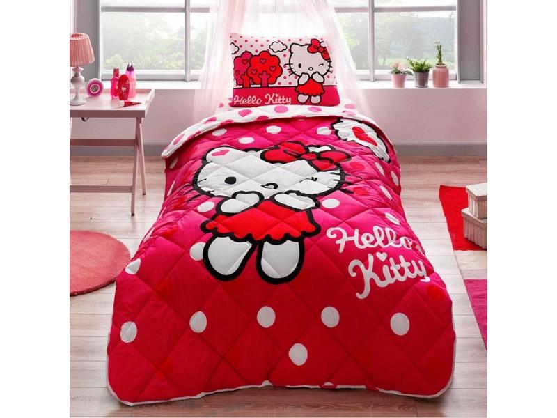 Детски спален комплект с юрган HELLO KITTY