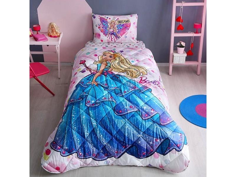 Детски спален комплект с юрган BARBIE