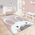 Килим за детска стая 160х230 см. RABBIT PINK