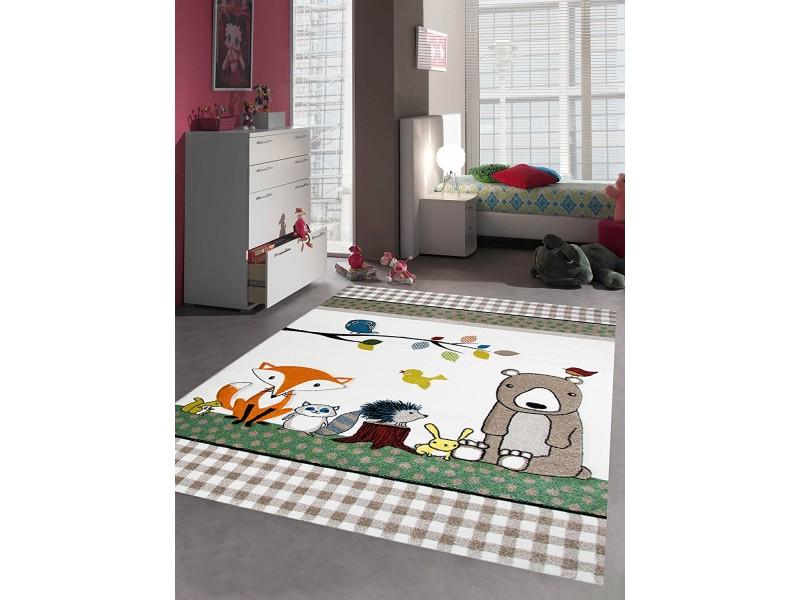 Детски релефен килим 160 х 230 см. ANIMALS