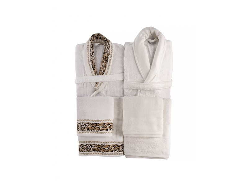 Луксозен комплект халати 6 части NAOMI