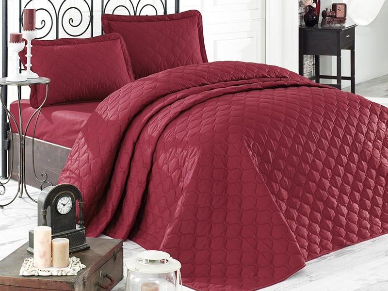 Покривка за легло, двойна -RABEL бордо