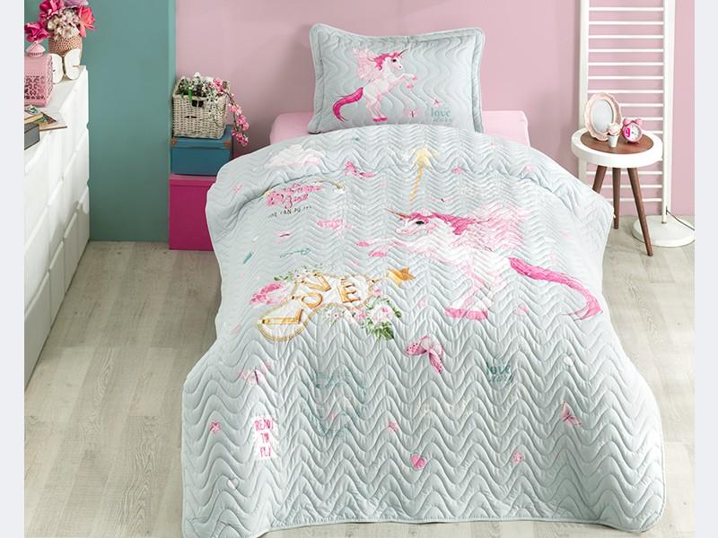 Покривка за детско легло с калъфка PEGASUS