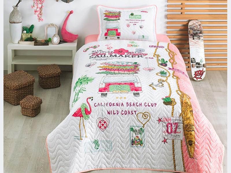Покривка за детско легло с калъфка ALOHA