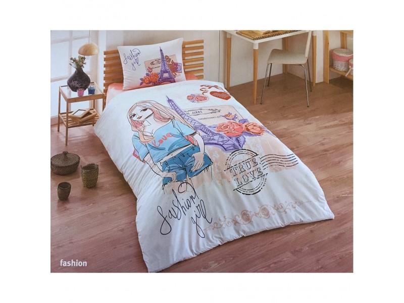 Единичен спален комплект FASHON