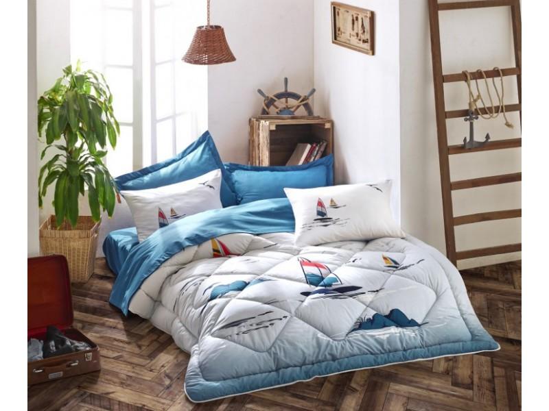 Олекотен спален комплект MARITIME син
