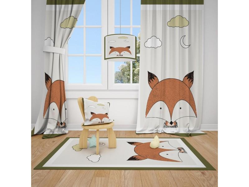 Пердета за детска стая и килим , комплект ПРОЛЕТ