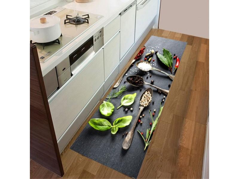 Пътека за кухня 3D - LOVE KITHCEN 60х200см.