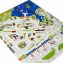 Детски килим за игри IVI - 133x180 см.MINI CITY