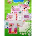 Детски килим за игри IVI - 133x200 см. GREENHOUSE