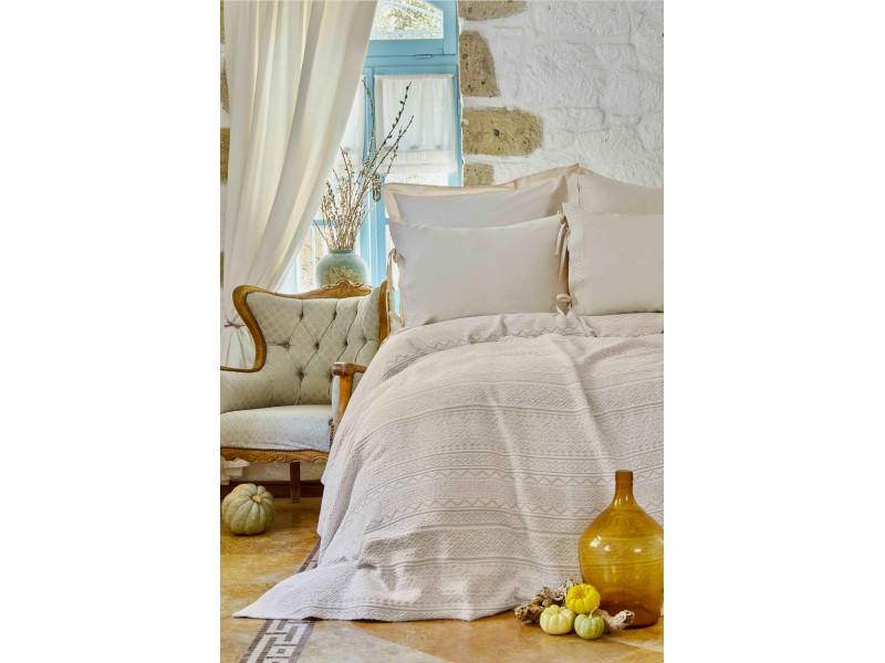Спален комплект с Жакардово пике - NELLY бежово