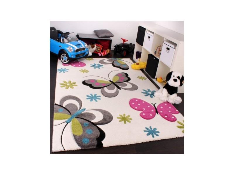 Детски килим 120 х 170cm., Пеперуди