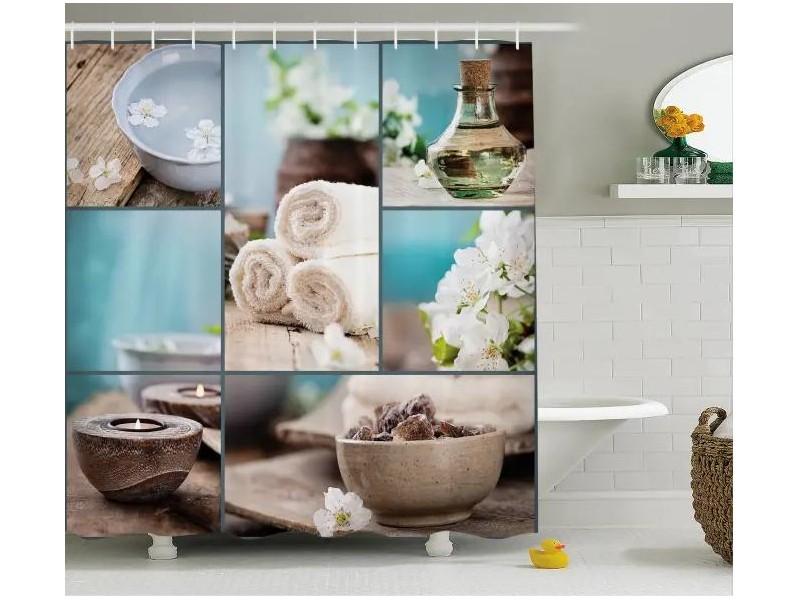 Завеса за баня 3D модел 1410