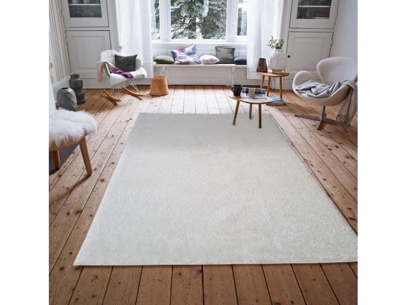 Модерен шаги килим 160х230см. SOHO БЯЛ
