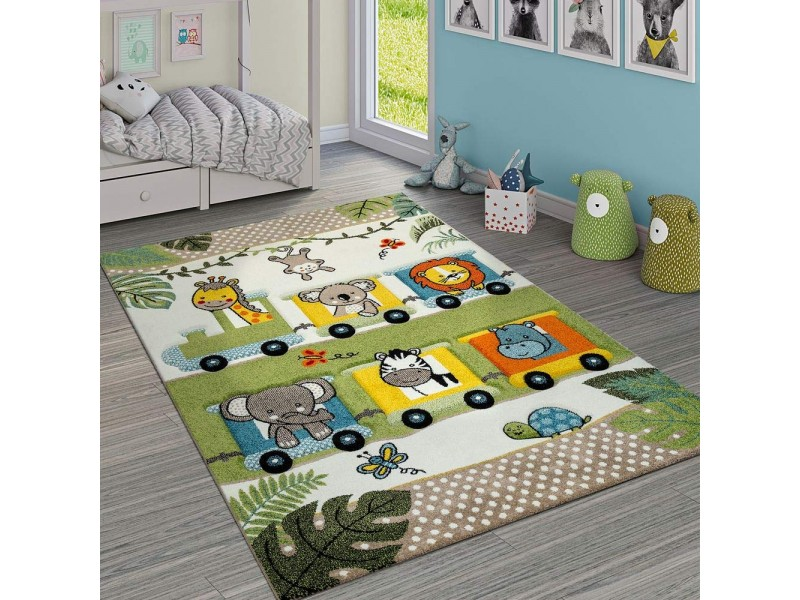 Детски релефен килим 160 х 230 см. HAPPY ZOO