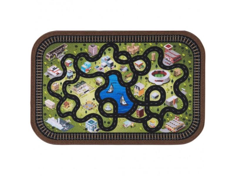 Мокетен килим за игри 200х290 см.- модел СИТИ
