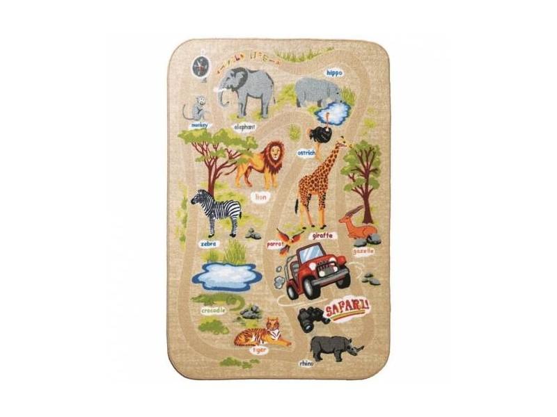 Мокетен килим за игри 200х290 см. АФРИКА