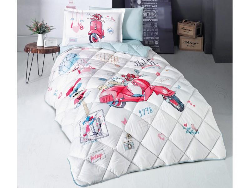 Олекотен спален комплект за детска стая Free Girl