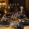 Сервиз за хранене от нано керамика - BLACK LUX