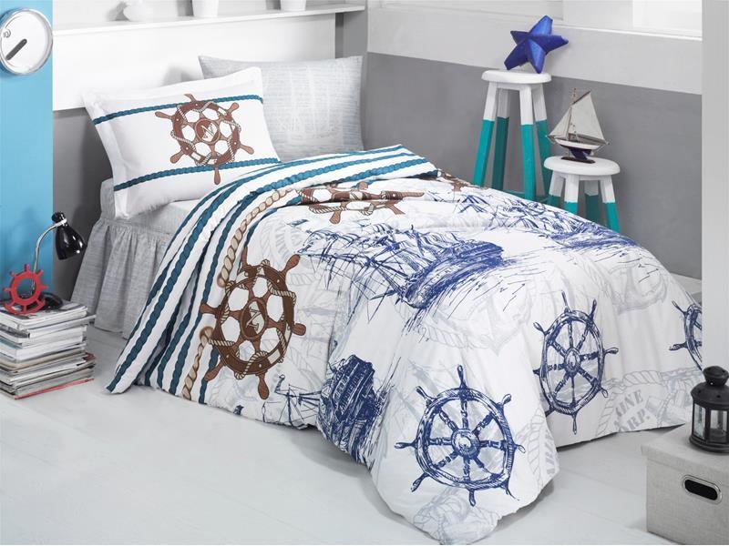 Олекотен спален комплект за детска стая Marine