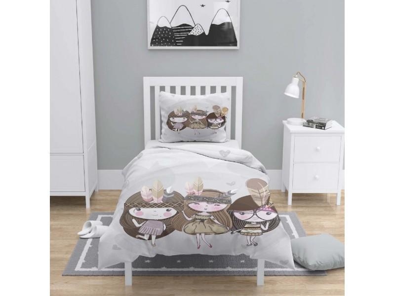 Детски 3D спален комплект ИНДИАНЧЕТА
