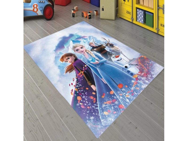 FROZEN детски 3D килим 160х230 см. модел 1