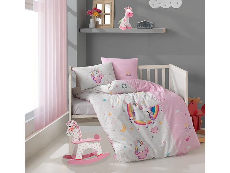 Бебешко спално бельо от памук PONY