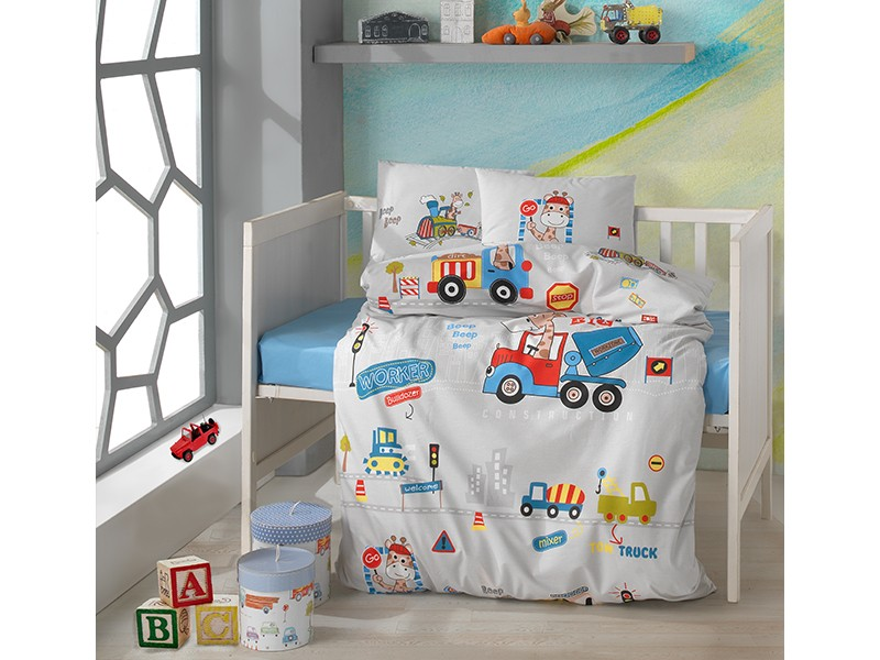 Бебешко спално бельо от памук GRAFFE