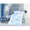 Бебешко спално бельо от памук SUPER WINGS