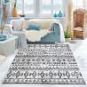 Модерен килим 150 х 230 см., Blue dream син детайл
